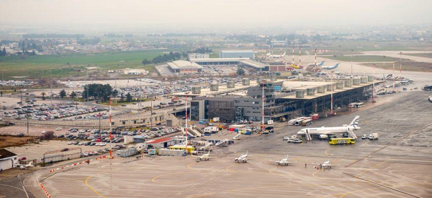 Vliegveldbus Thessaloniki