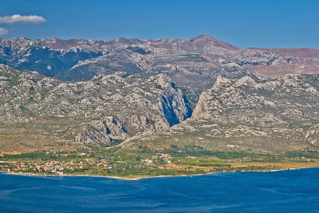 Paklenica canyon National park view on Velebit mountain in Croatia