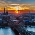 Koln panoramic view