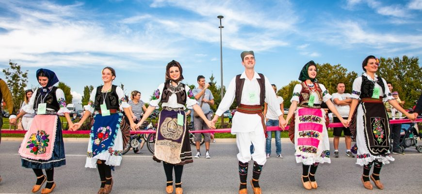Folklore Dancing in Novi Sad