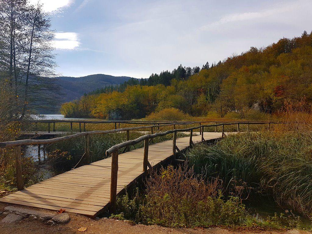 Autumn Plitvice lakes
