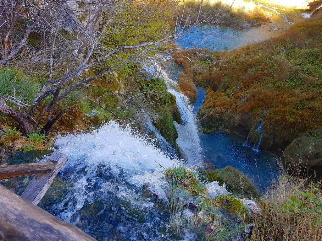 Lower part of Plitvice