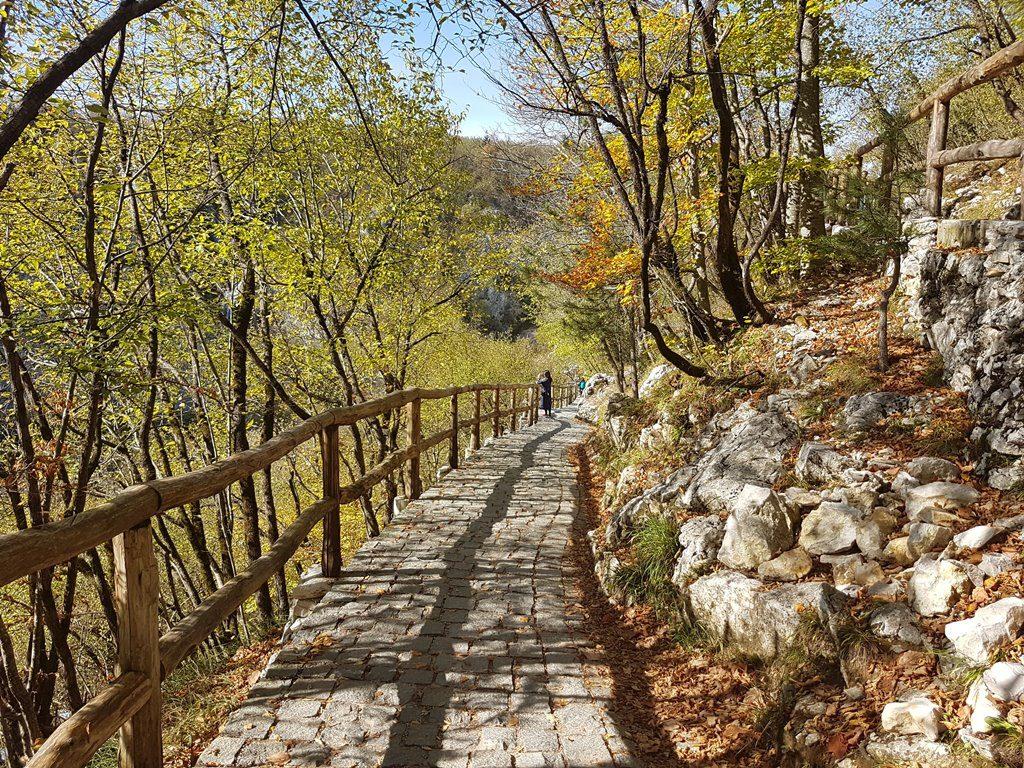Walking path Plitvice