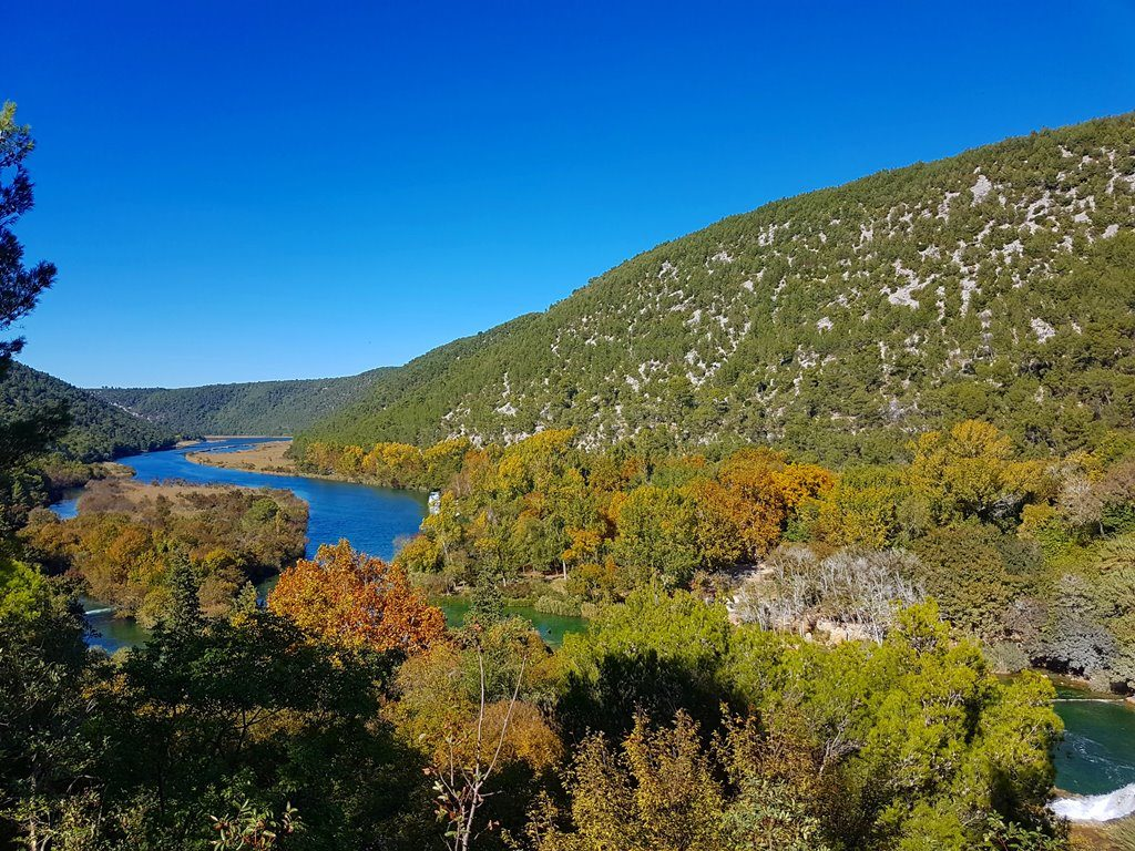 Lower part of Krka