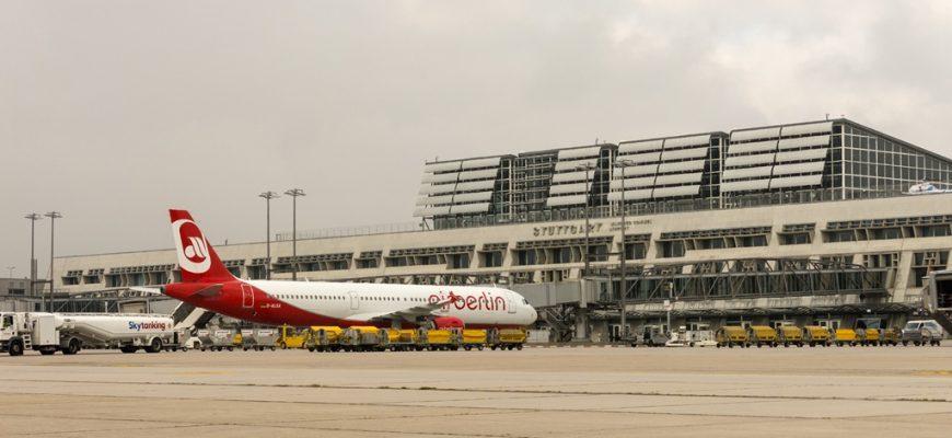 Planes in Stuttgart