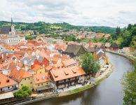 Cesky Krumlov City Center
