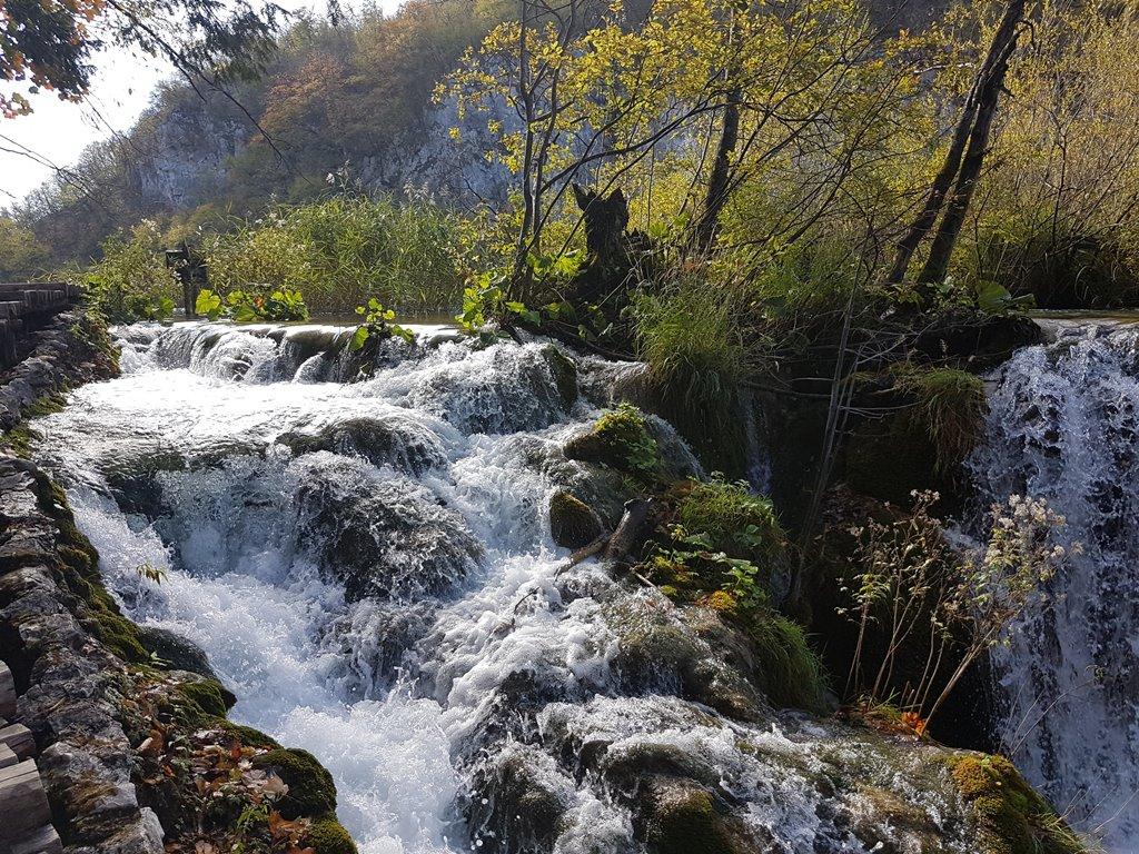 Waterfall at Plitvice
