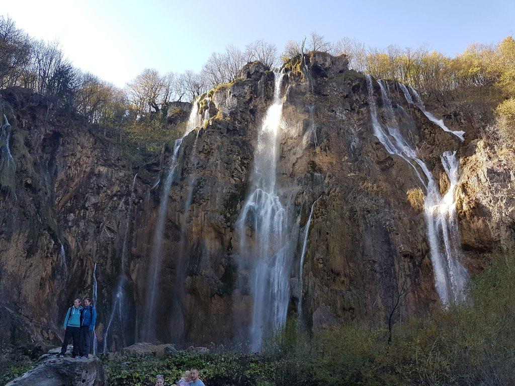 La plus grande chute d'eau des Lacs de Plitvice