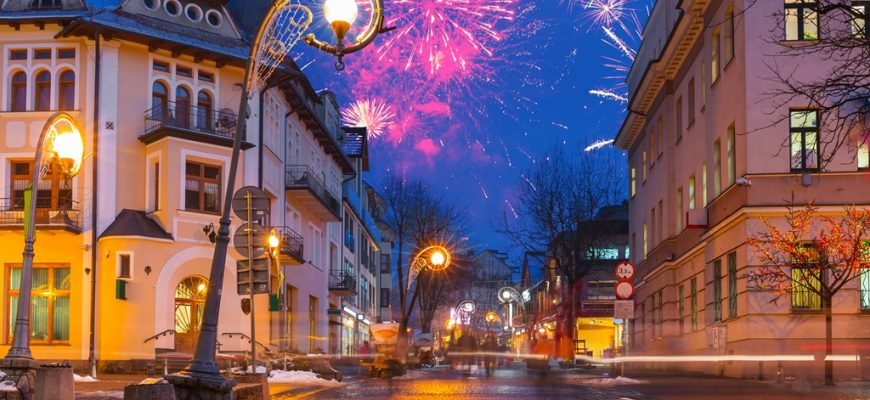 Street in Zakopane