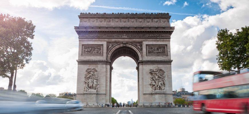 Bussen tussen Londen en Parijs