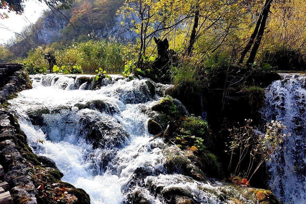 Waterfall Plitvice Lakes