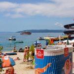 Bussen van Belgrado naar de Kroatische kust