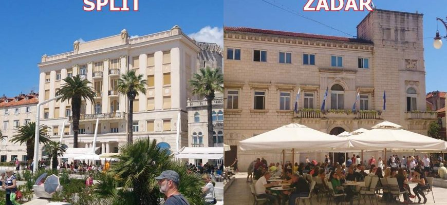 Buslijn Split Zadar