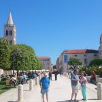 Bussen tussen Zadar en Rijeka