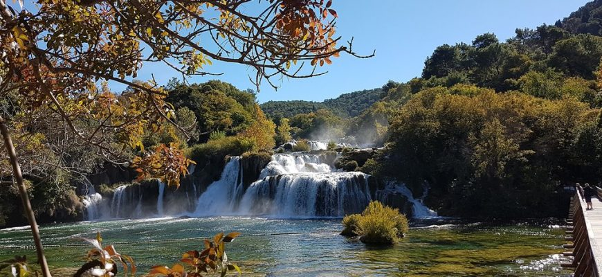 Waarom de Krka watervallen bezoeken