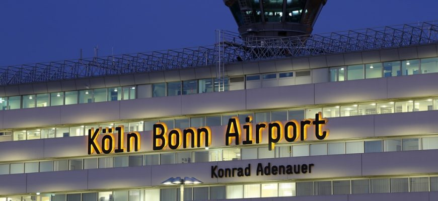 Vliegveldbus Keulen Bonn