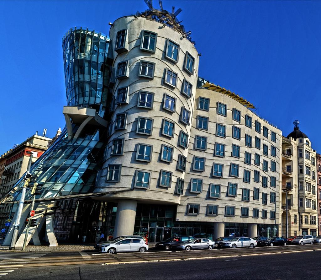 Einzigartige Gebäude in Europa