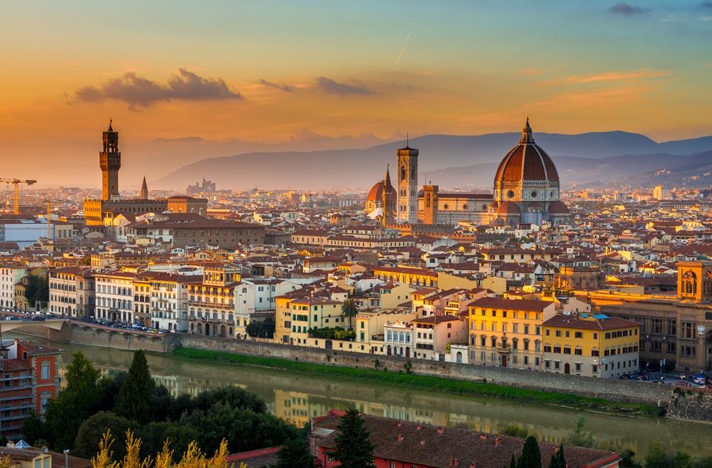 Centrum van Florence