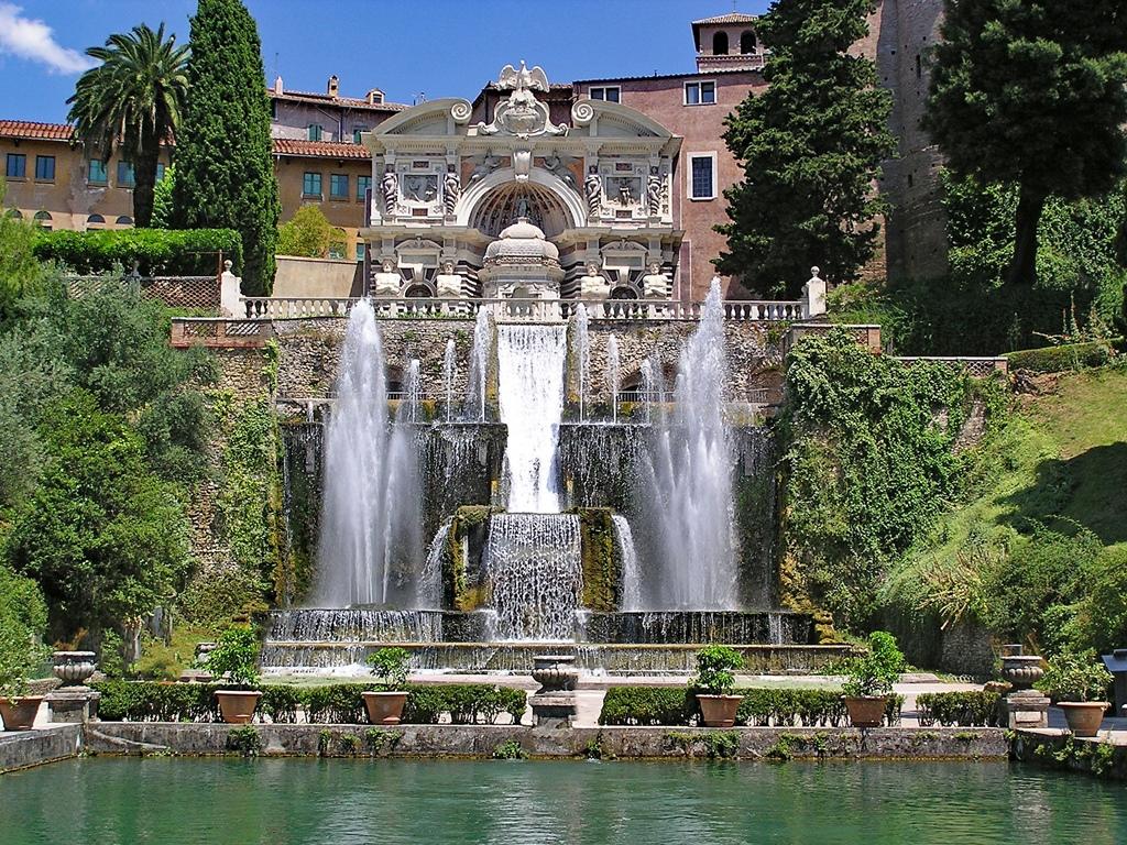 Villa d'Este tuinen