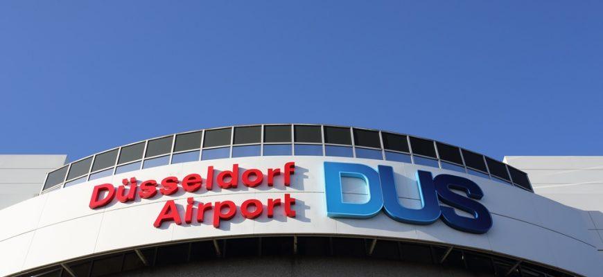 Dusseldorf-vliegveldbus