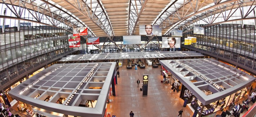 Vliegveldbus Hamburg