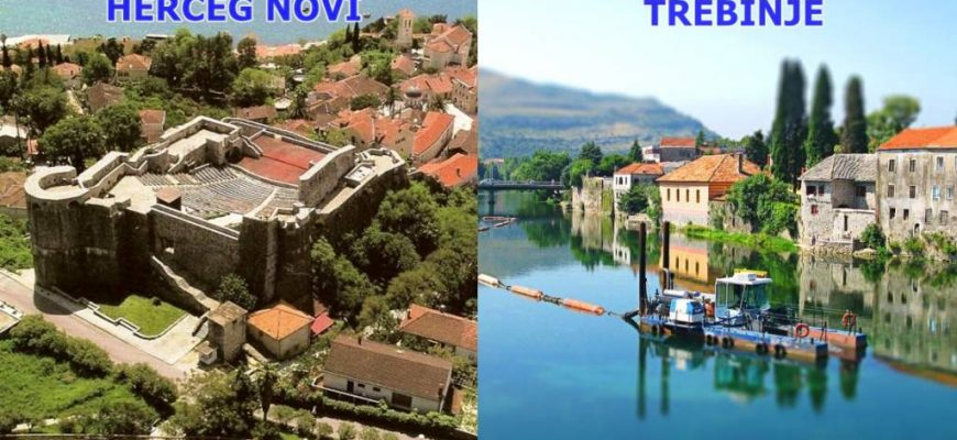 Busroute Trebinje-Herceg-Novi