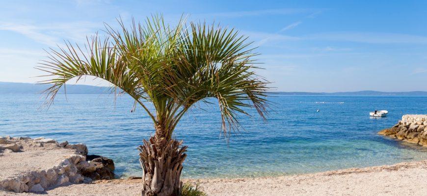 Stranden in Split