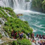 Raften op de Balkan