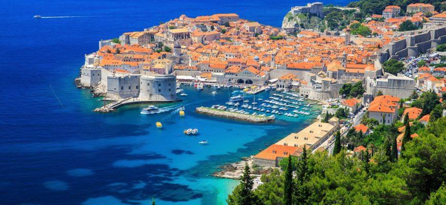 Stranden in Dubrovnik