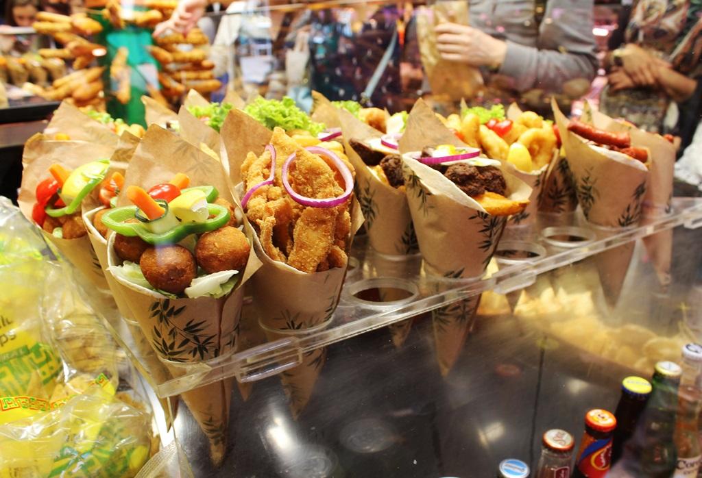 Eten in Barcelona