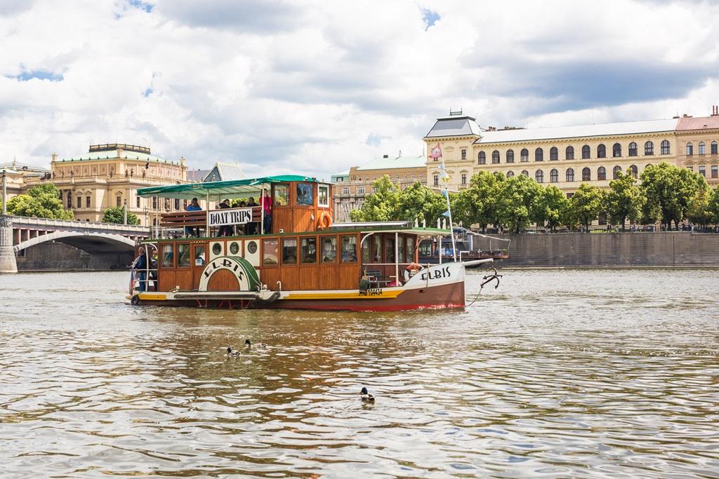 Boottocht in Praag