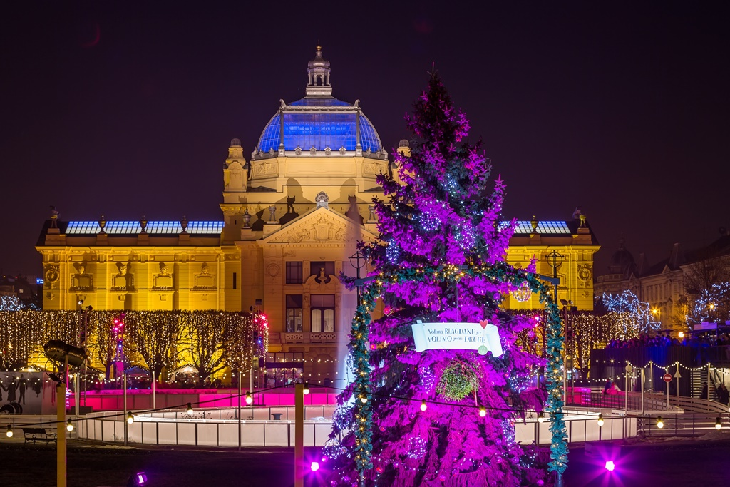 Kerstmarkt Zagreb 2018