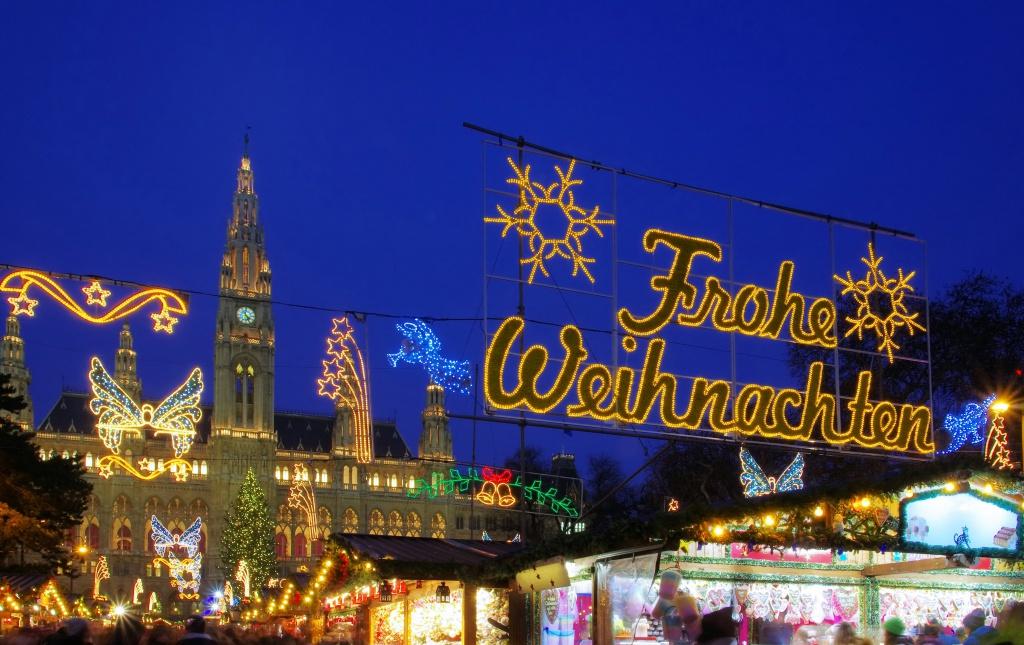 Kerstmarkt Wenen