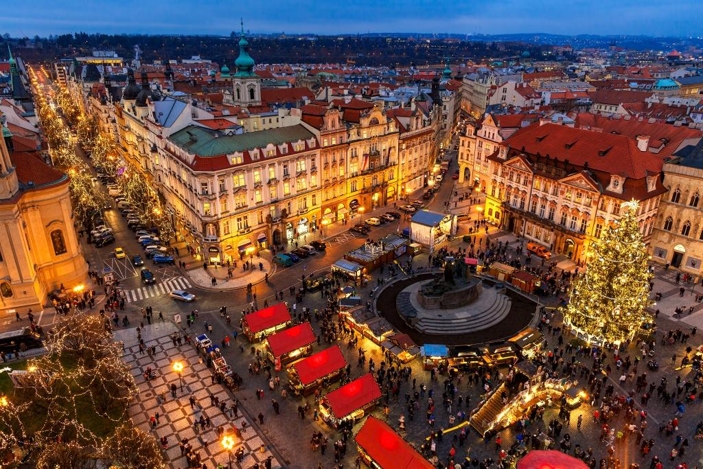 Kerstmarkt Praag 2018