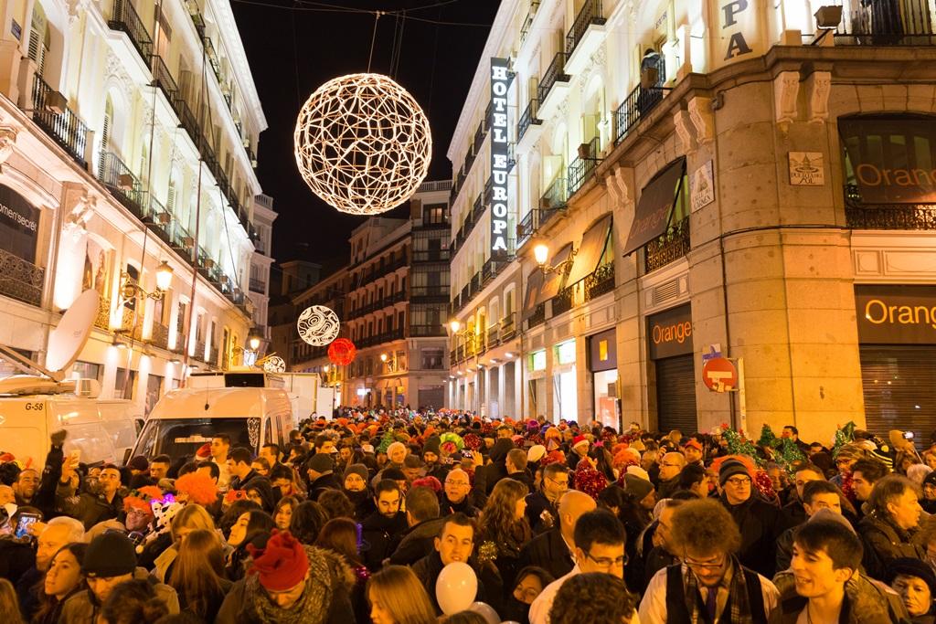 Oud en Nieuw in Madrid