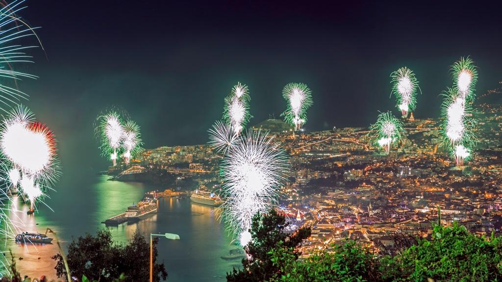 Oud en Nieuw op Madeira