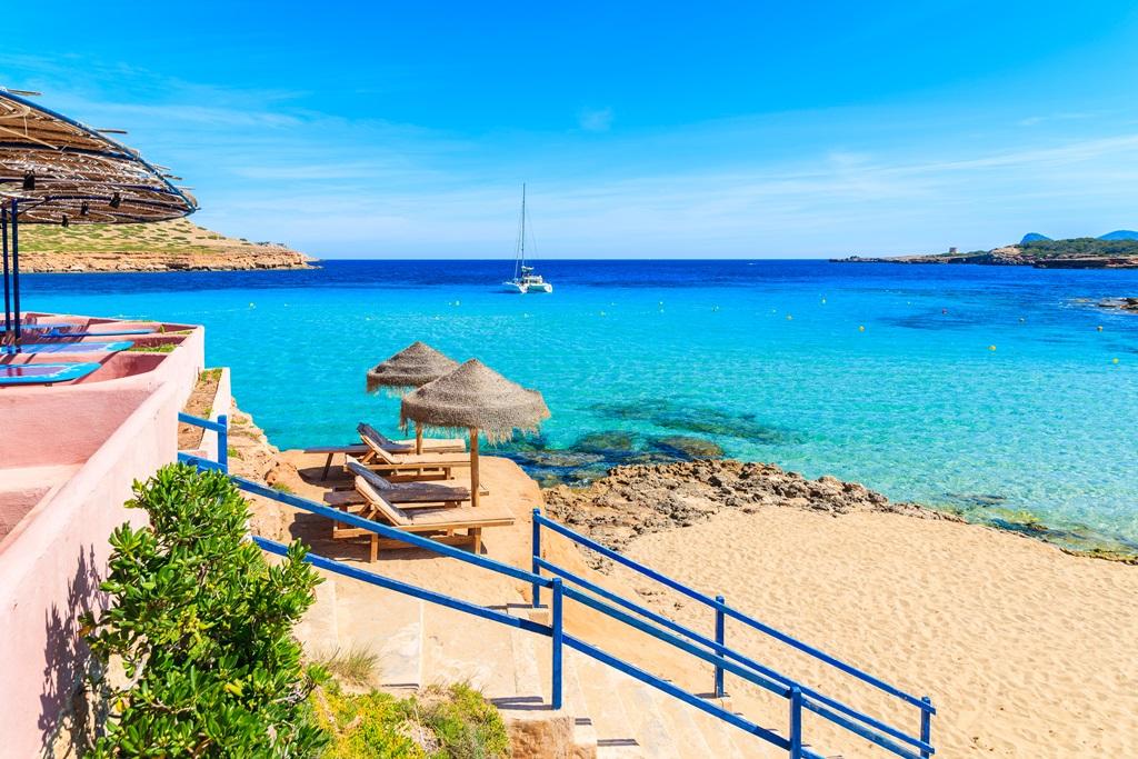 Stranden van Ibiza
