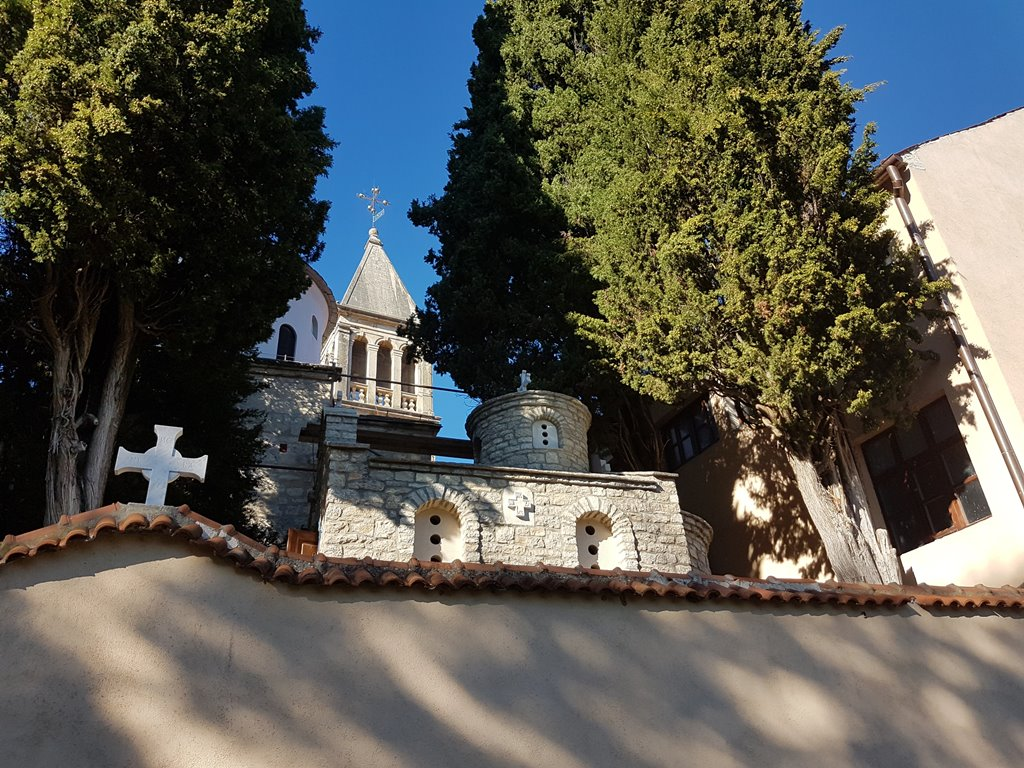 Krka Klooster bezoeken
