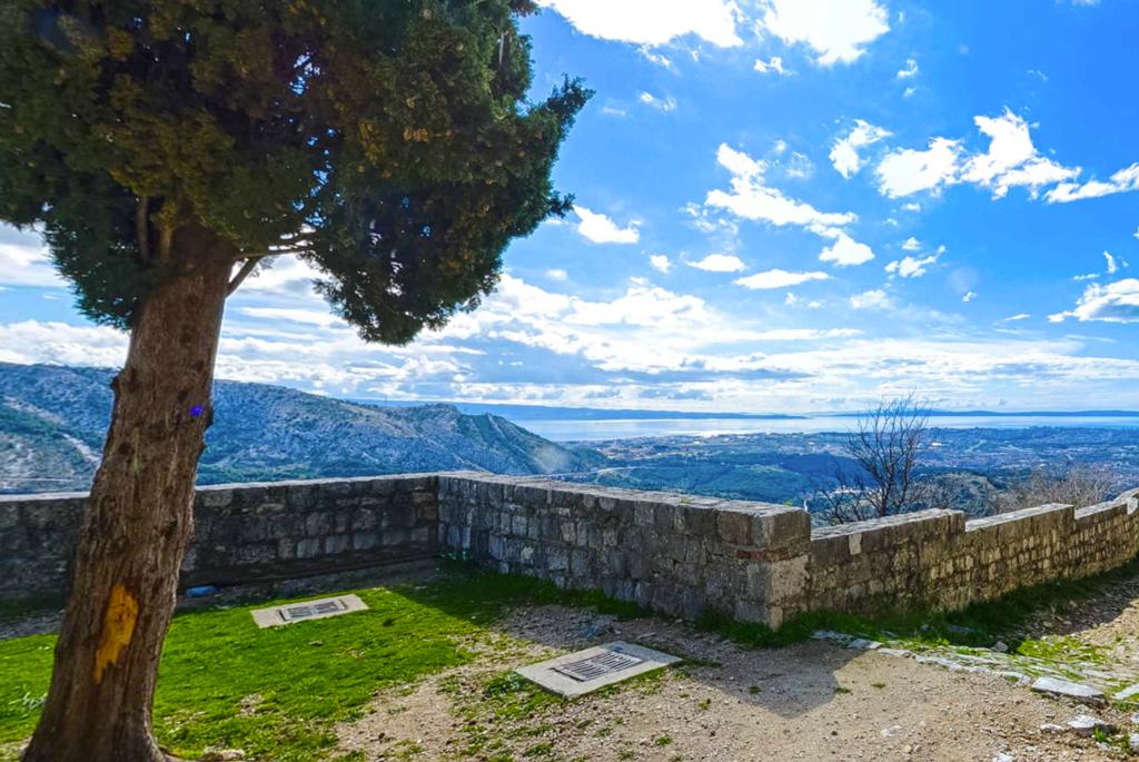 Uitzicht vanaf Klis