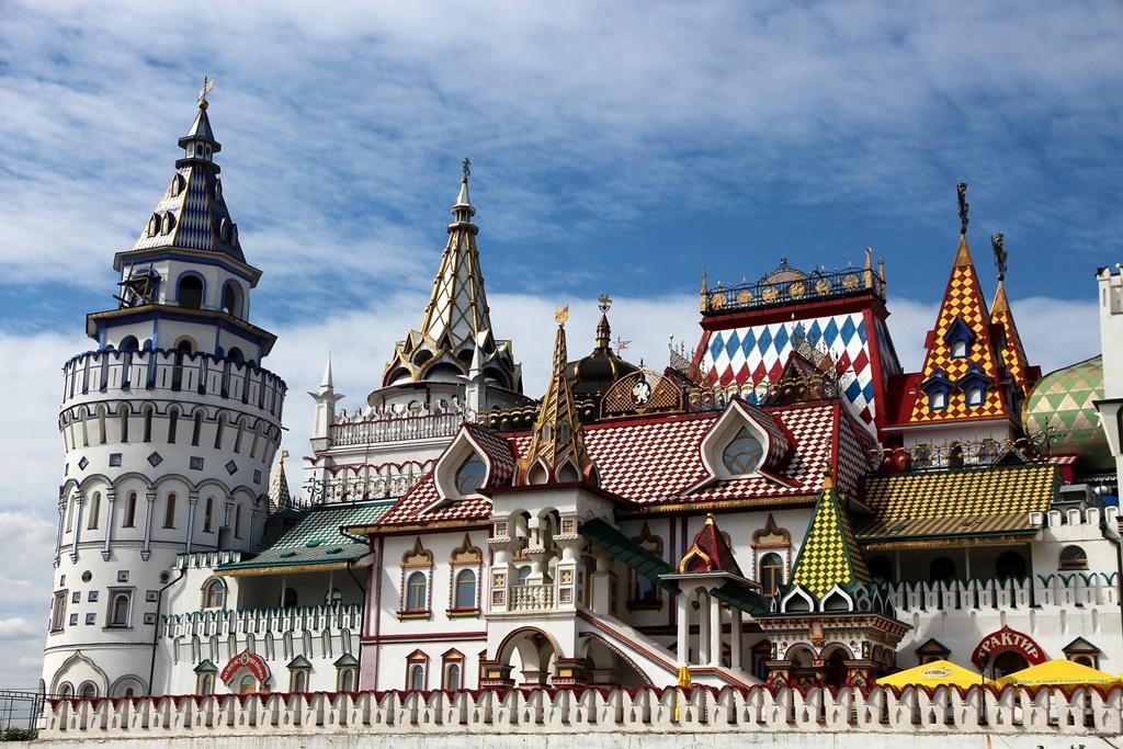 Izmaylovo Kremlin Moskou