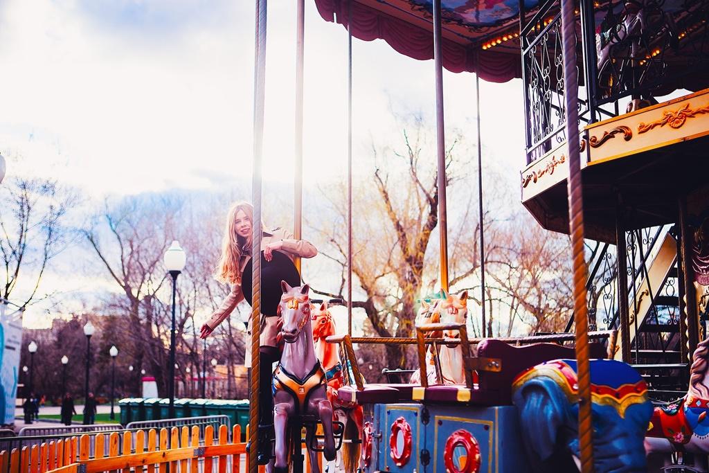 Gorky park in Moskou bezoeken