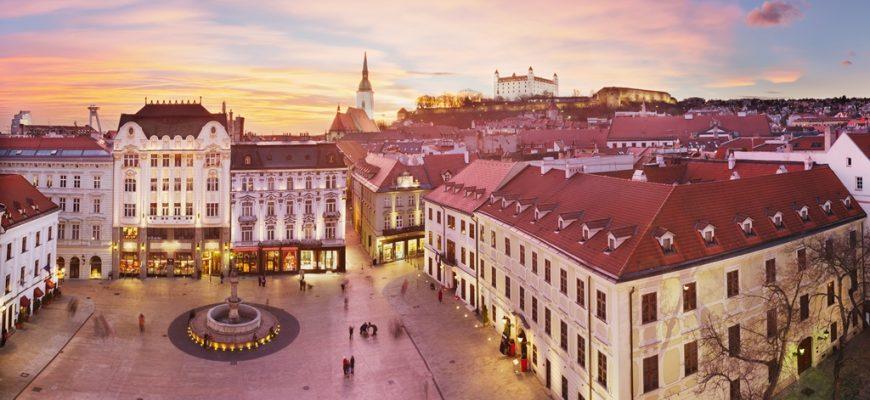 Bezienswaardigheden in Bratislava