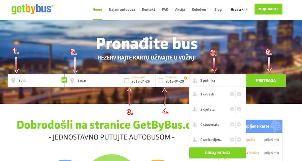 Kupovina Povratne Karte Getbybus Blog O Autobusnom Prijevozu
