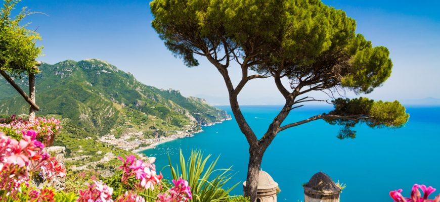 Stranden in Italie