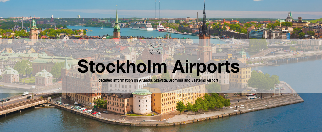 Stockholm airports