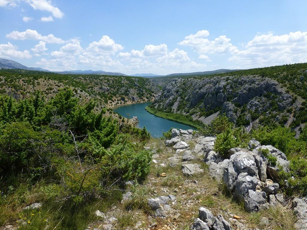 Watervallen Kroatie - Zrmanja