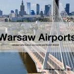 Vliegvelden in Warschau