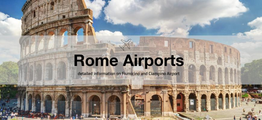 Vliegvelden gids Rome