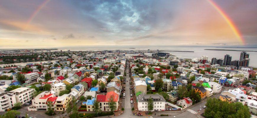 24 uur in Reykjavik