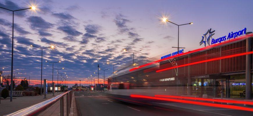 Vliegveldbus Burgas